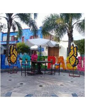"""Composición fotográfica para promocionar la Expo imagina 2019 """"Tradiciones vivas de Tlaquepaque: el tesoro de México"""". A desarrollarse del 26 al 29 de septiembre, en el Municipio de Tlaquepaque, Jalisco"""