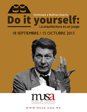 Exposición: Do it yourself. La arquitectura es un juego