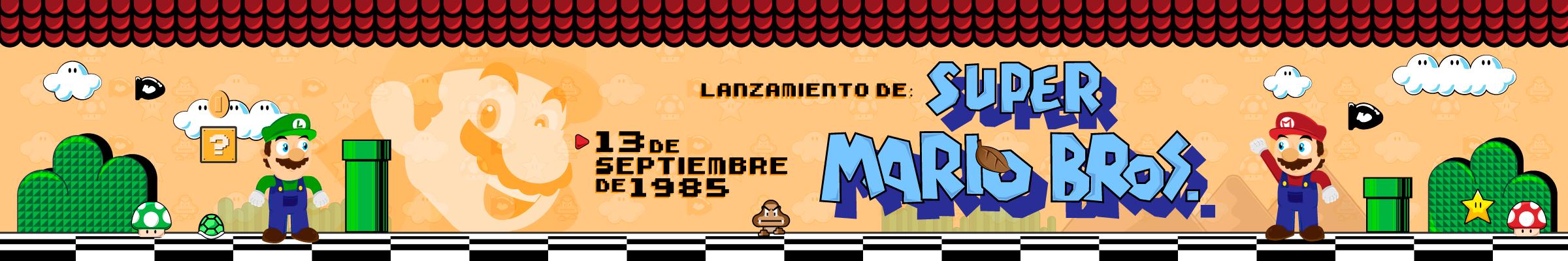 13 de septiembre de 1985 – Lanzamiento de Super Mario Bros.
