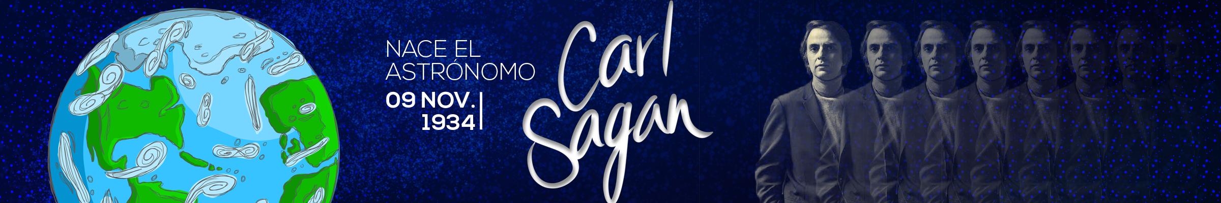 9 de noviembre de 1934 - Nace el astrónomo Carl Sagan