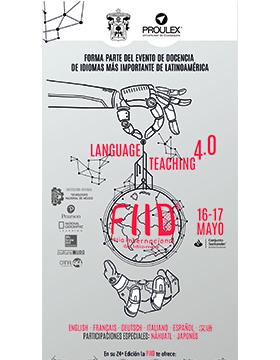 Cartel informativo de la Feria Internacional de Idiomas (FIID). A desarrollarse el 16 y 17 de mayo, en el Conjunto Santander de Artes Escénicas
