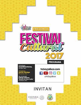 Cartel con texto del Festival Cultural 2017