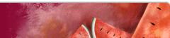Ilustración con las tipicas sandías del pintor