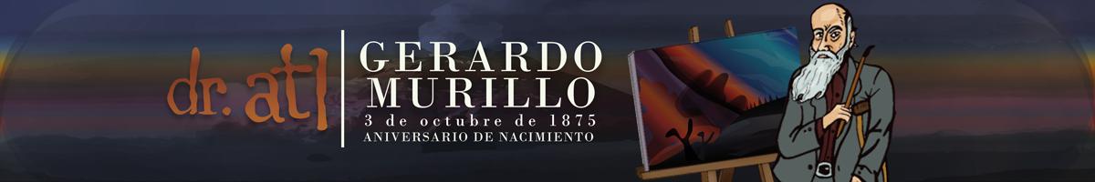 Gerardo Murillo es reconocido por sus paisajistas y por sus estudios del recién nacido volcán Paricutín.