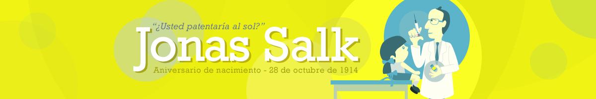 Salk descubrió la vacuna contra la poliomielitis deteniendo el avance de esta enfermedad en el mundo.