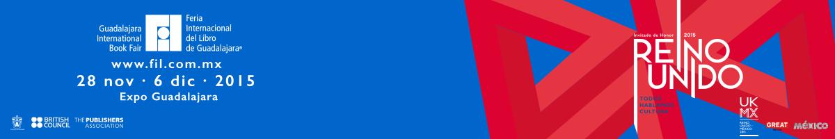 Cartel oficial de la FIL 2015 con el Triángulo de Penrose - ver la agenda