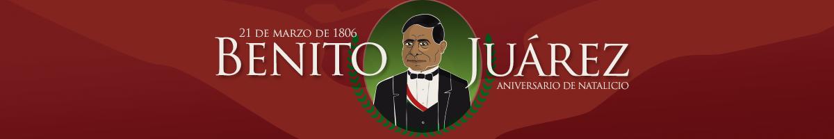 Ilustracion dedicada a Benito Juárez en su aniversaio de natalicio