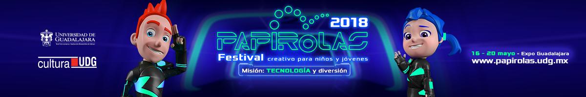 Visite el sitio oficial de Papirolas 2018