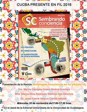 Portada de la revista: Sembrando Conciencia en su edición 10