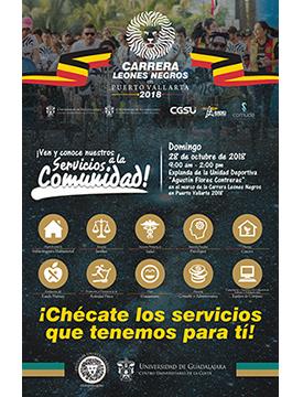 Cartel informativo sobre las Brigadas Universitarias CUCosta 2018, 28 de octubre, 9:00 h.