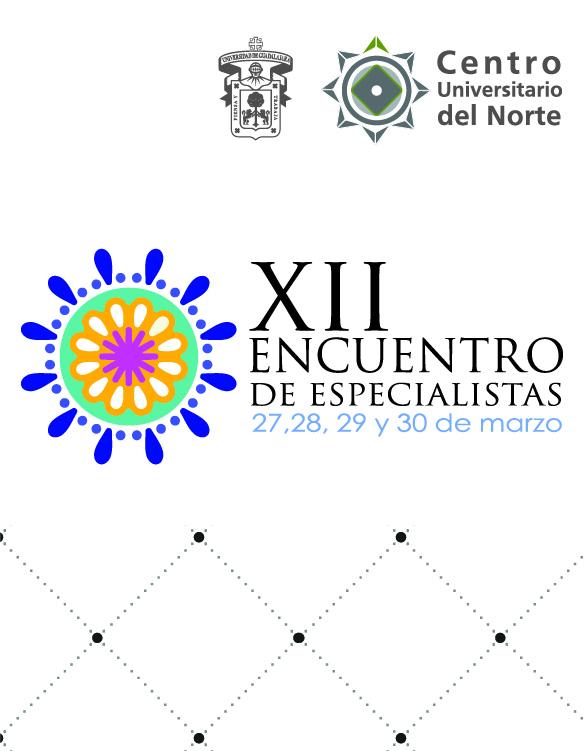 Cartel con texto del XII Encuentro de Especialistas en CUNorte