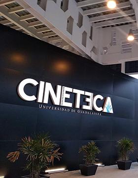 Identidad gráfica para promocionar la cartelera semanal de la Cineteca del Festival Internacional de Cine en Guadalajara (FICG), a desarrollarse del 28 de agosto al 3 de septiembre