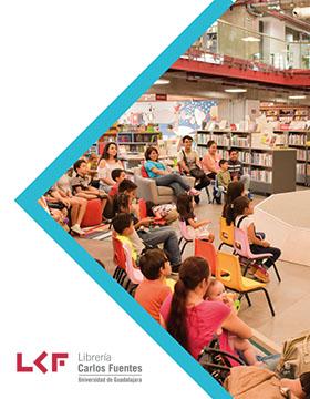 Cartel informativo sobre Cuentacuentos: Los siete cabritos y La cosa que más duele en el mundo, el 24 de febrero, de 12:30 a 13:30 h. en el Área infantil, Librería Carlos Fuentes