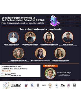 Seminario permanente de la Red de Innovación Educativa RIE 360: Perspectivas y estrategias para la nueva realidad académica