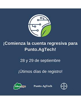 Primera edición de Punto.AgTech