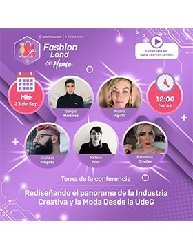 Conferencia: Rediseñando el panorama de la industria creativa y la moda desde la UdeG