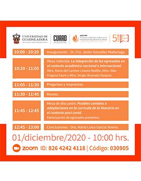5to Foro de Egresados de la Maestría en Procesos y Expresión Gráfica en la Proyectación Arquitectónica Urbana