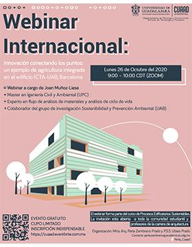 Webinar Internacional: Innovación conectando los puntos