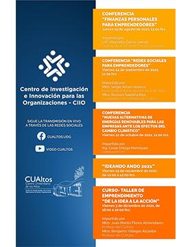 Conferencias del Centro de Investigación e Innovación para las Organizaciones - CIIO