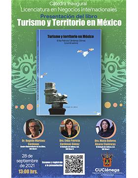 """Presentación del libro: """"Turismo y Territorio en México"""""""