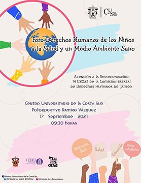 Foro Derechos Humanos de los Niños a la Salud y un Medio Ambiente Sano