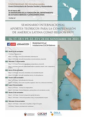 Seminario Internacional 'Aportes Teóricos para la Comprensión de América Latina como Región Hoy'