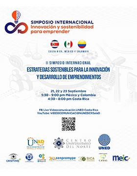 """II Simposio Internacional """"Estrategias Sostenibles para la Innovación y Desarrollo de Emprendimientos"""""""