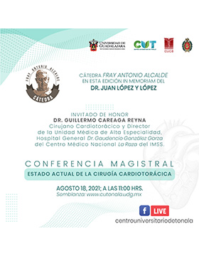 Cátedra Fray Antonio Alcalde in memoriam del Dr. Juan López y López