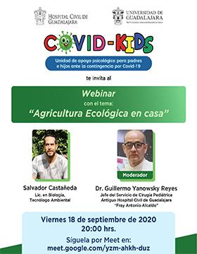 Webinar: Agricultura ecológica en casa