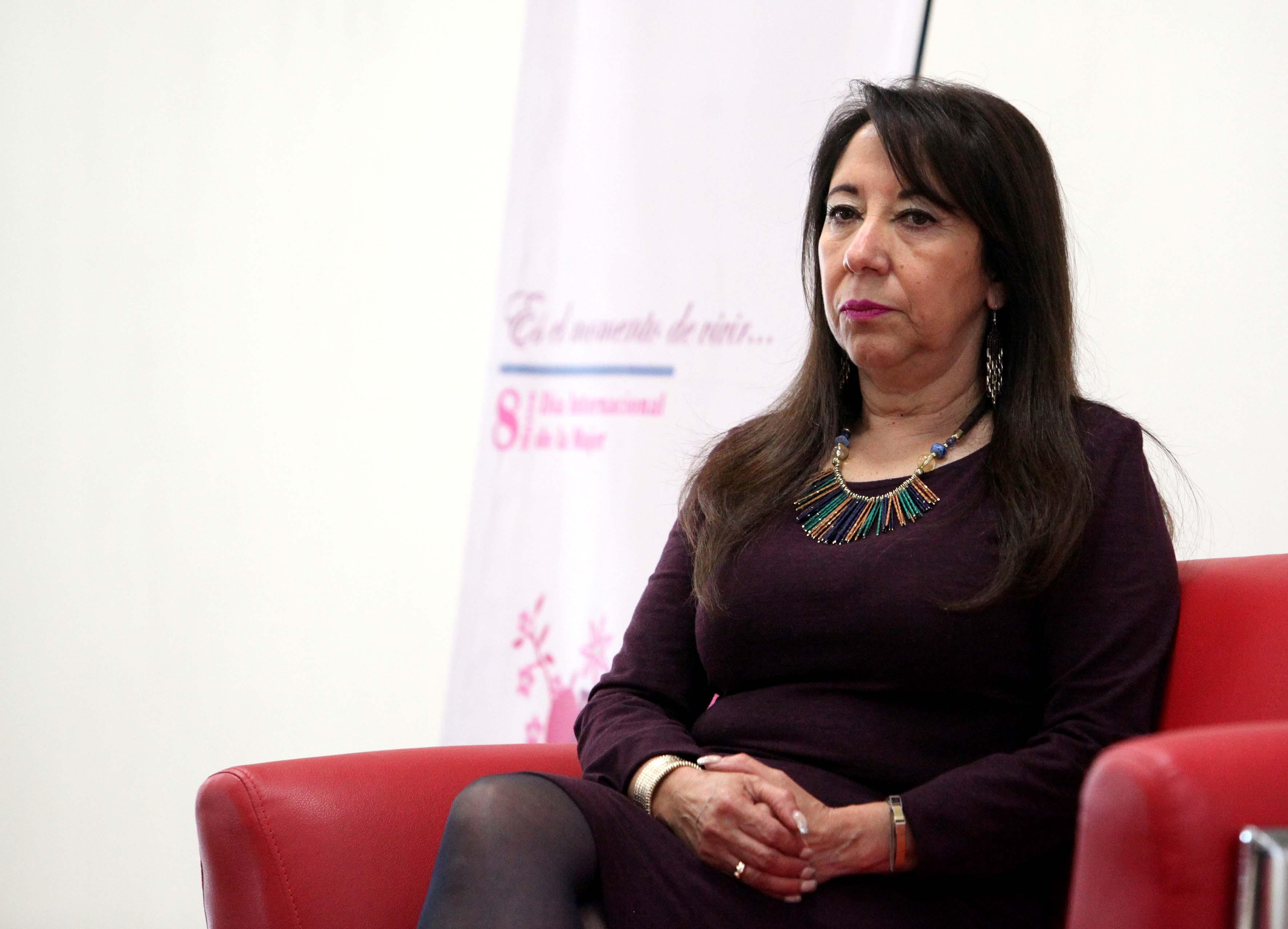 Lilia Margarita Lomeli Urquieta directora de la prepa 18