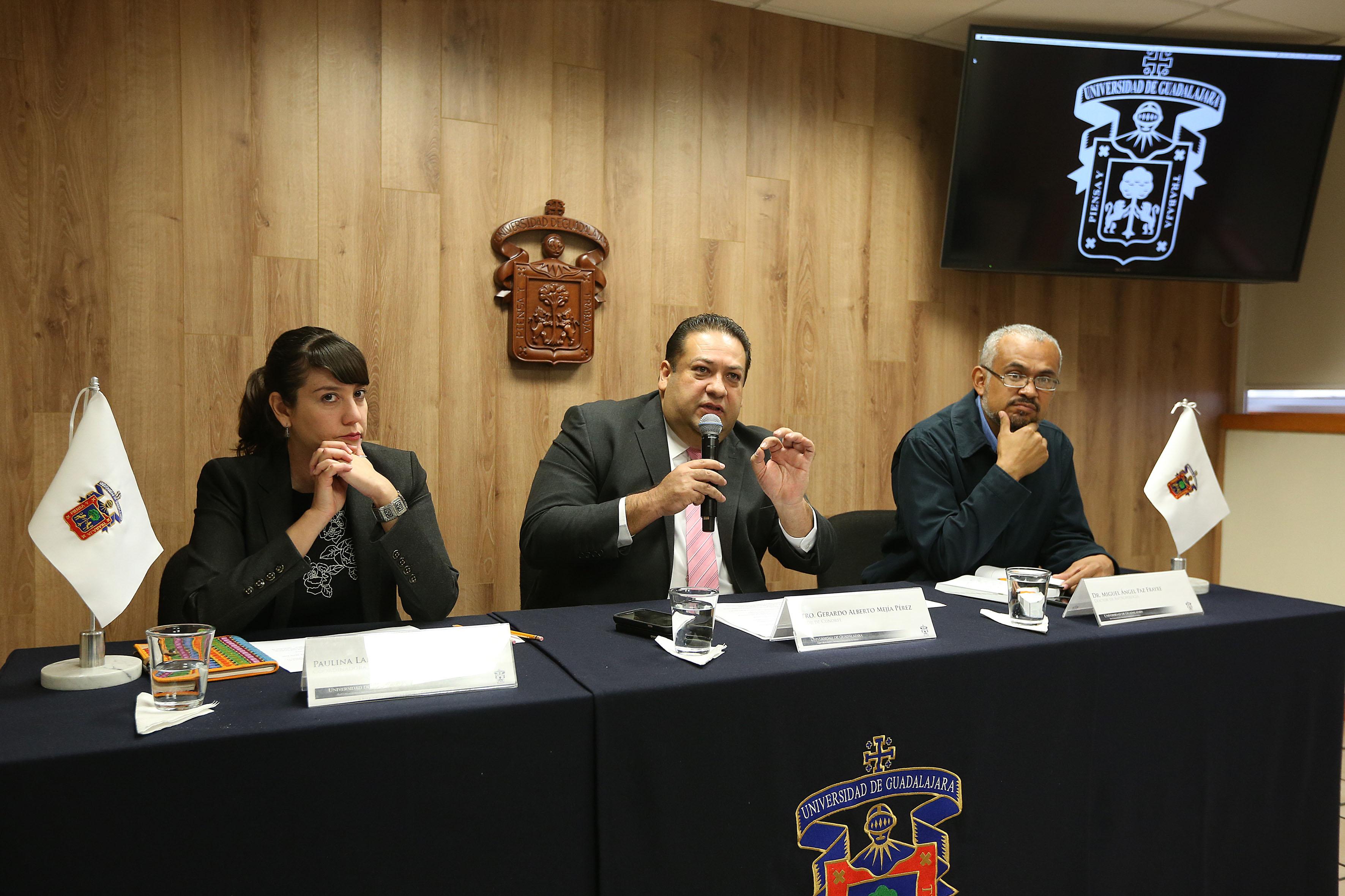 De nueva cuenta, el maestro Gerardo Alberto Mejía Pérez, rector de CuNorte.