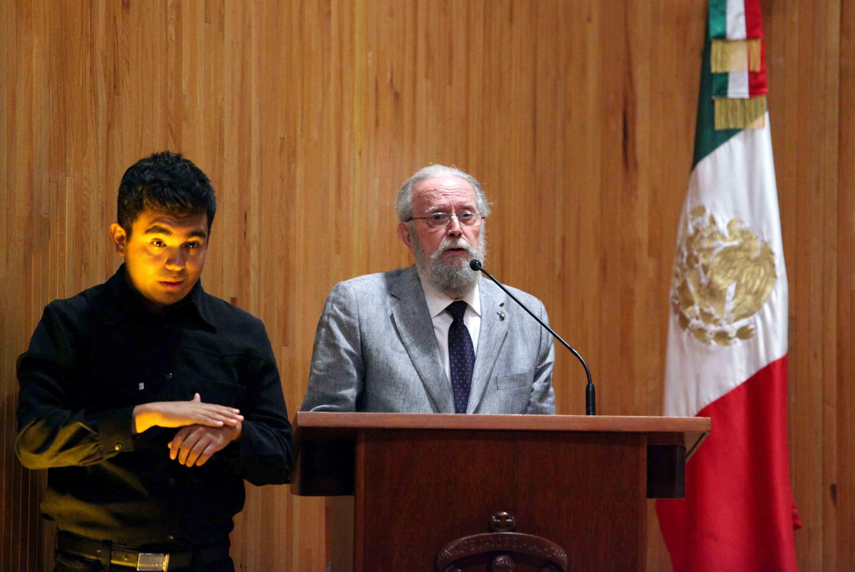 Palabras del Doctor Honoris causa por la UdeG, Hugo Gutiérrez Vega.