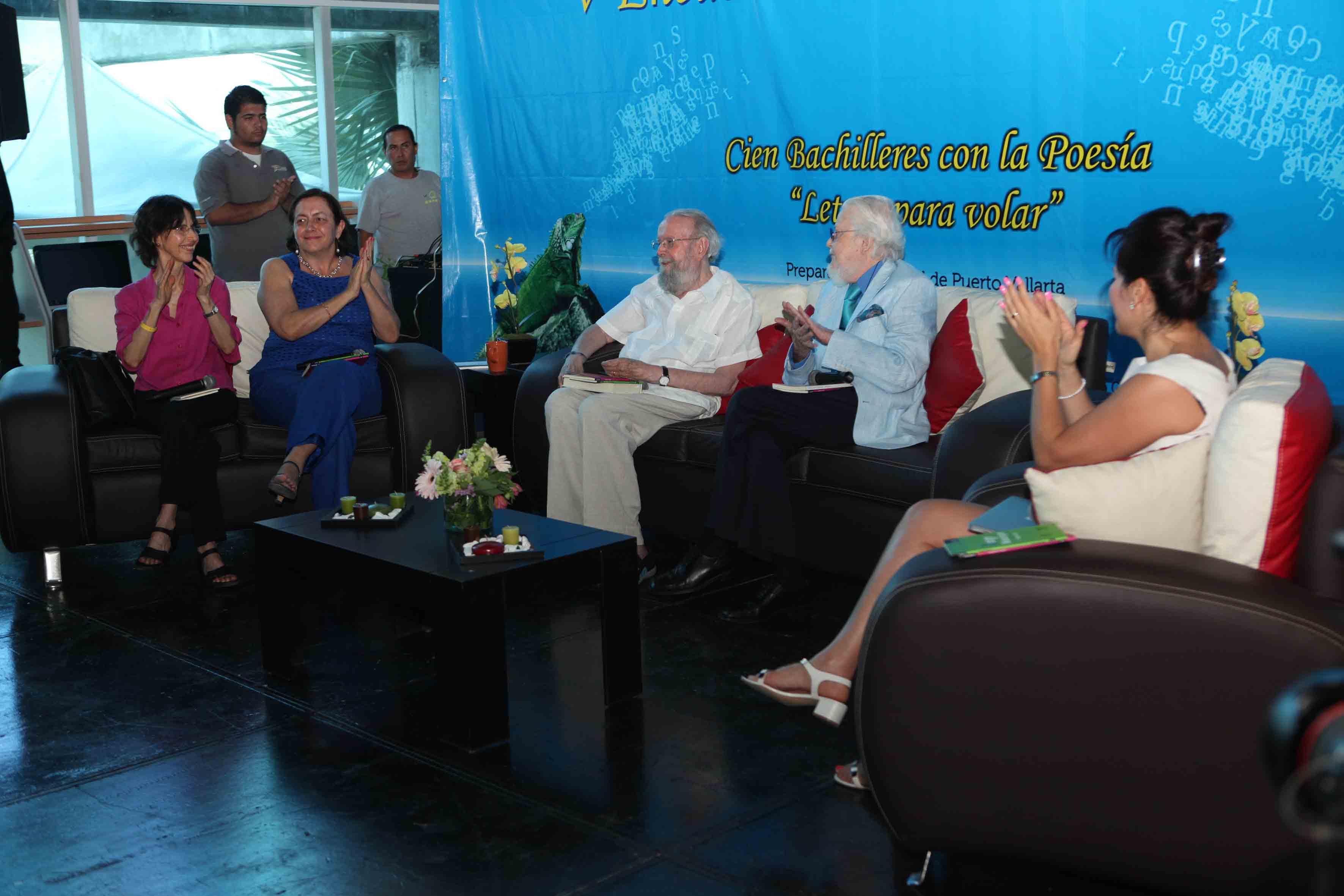 Dra.Patricia Rosas Chavez, Fernando del Paso, Hugo Gutiérrez Vega, Carmen Villoro, Coral Bracho
