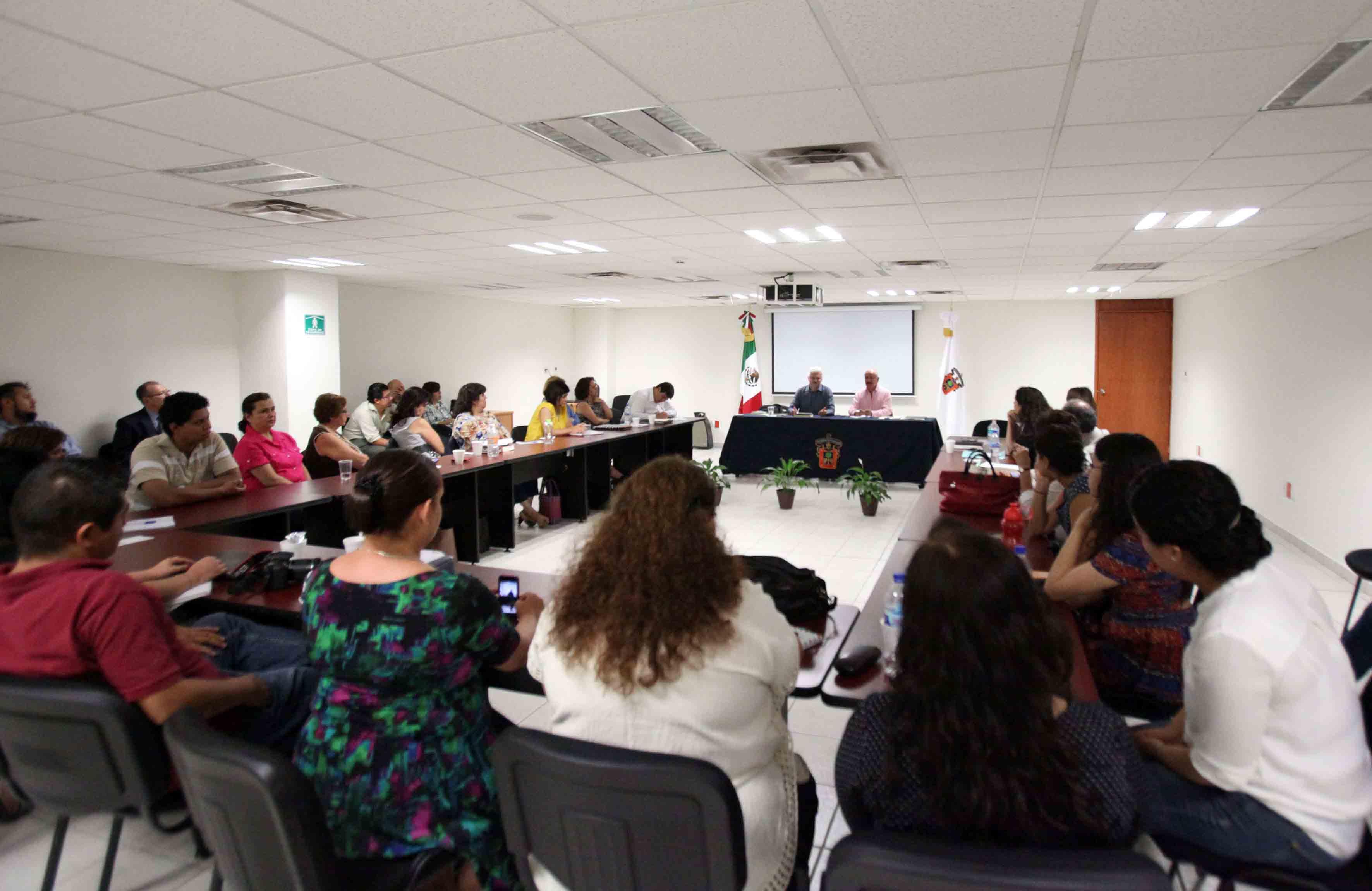 Participantes y publico asistente al 3er Coloquio de Avances de Investigación Generación 2014–2016.