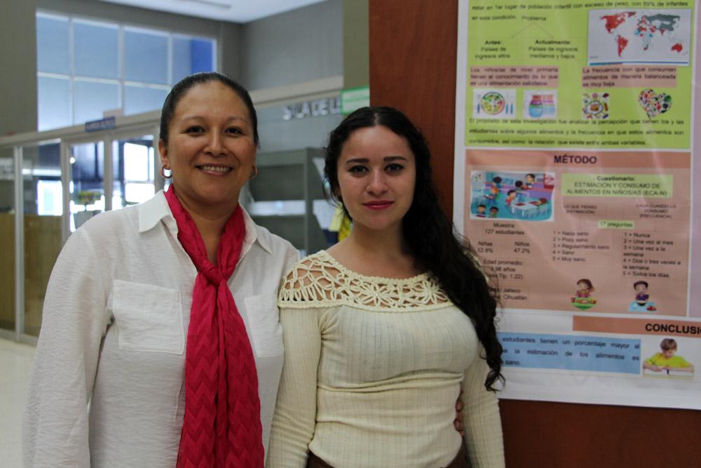 Estudiante y una alumna
