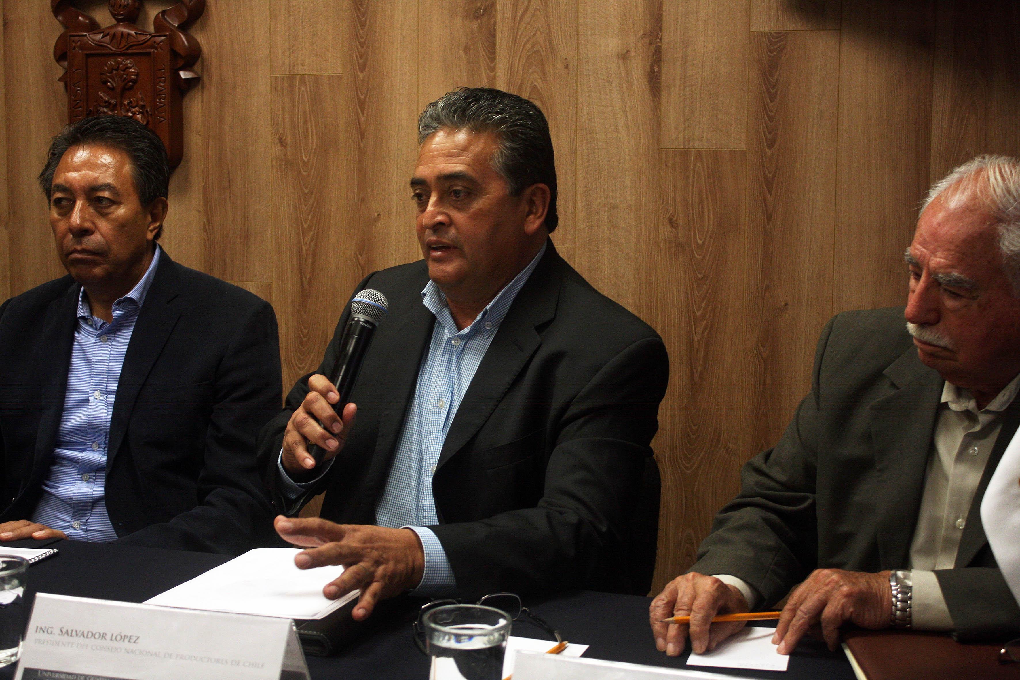Ing. Salvador López, Presidente del Consejo Nacional de productores de Chile