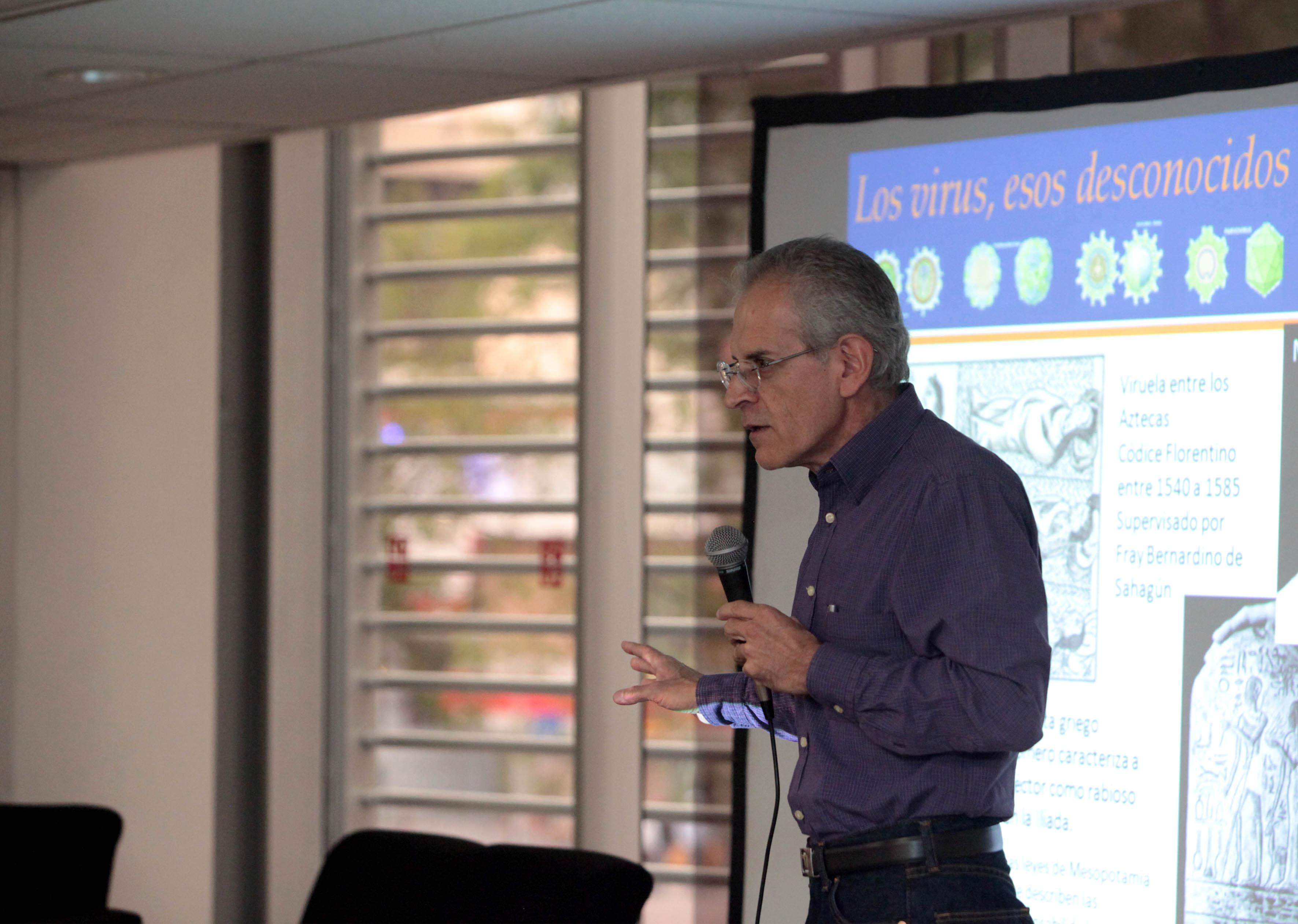 Investigador del Centro Universitario de Ciencias Biológicas y Agropecuarias (CUCBA) Dr. Arturo Orozco Barocio
