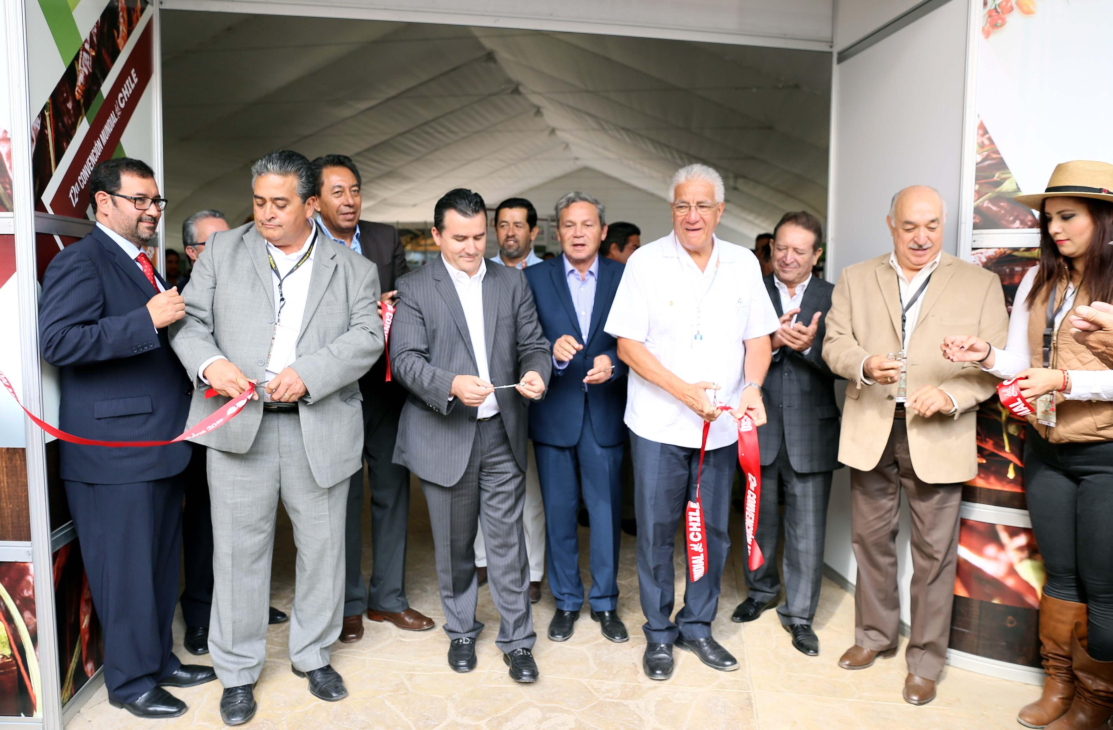 Inauguracón de la 12 Convenión Mundial del Chile
