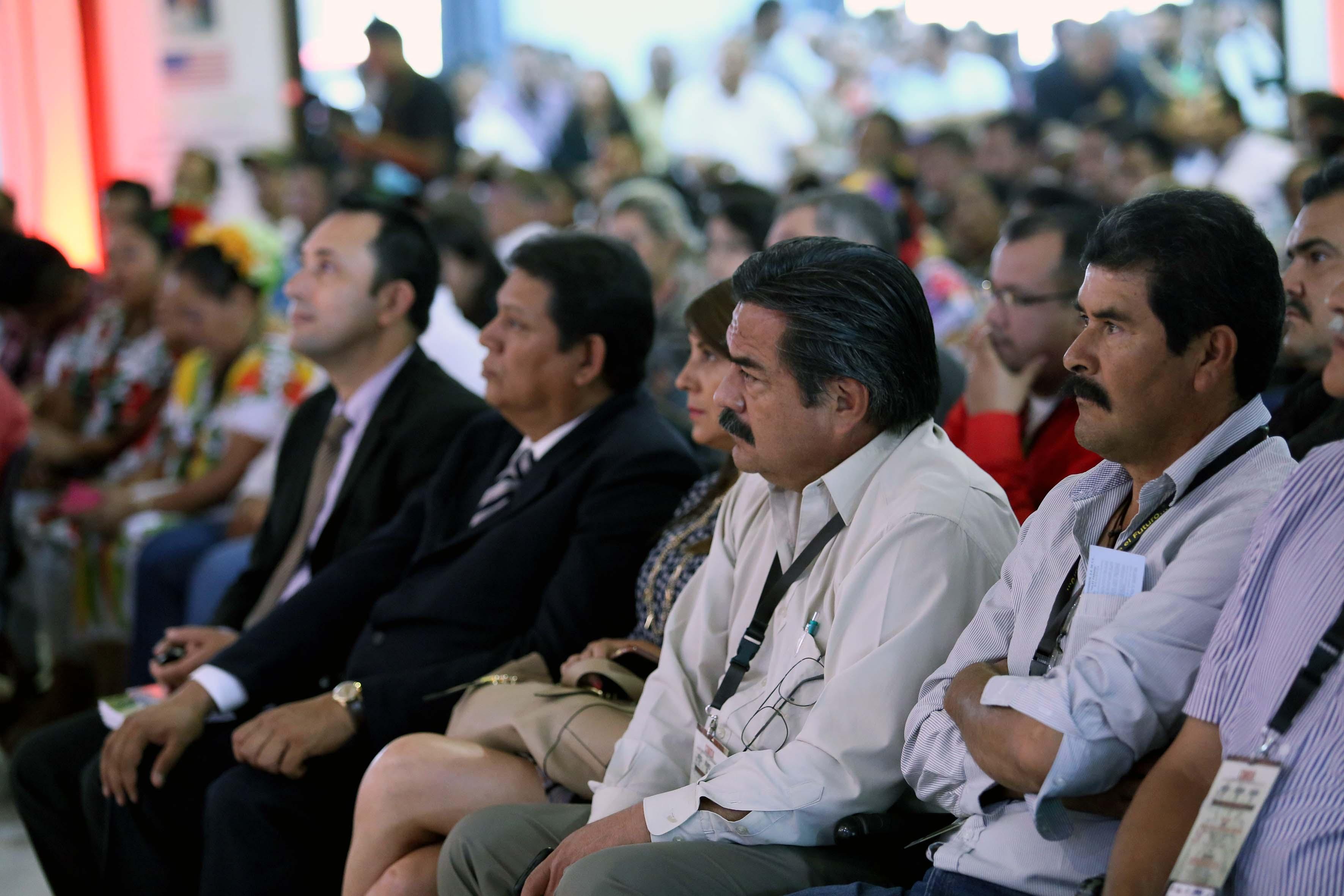Asistentes a la Convención del Chile
