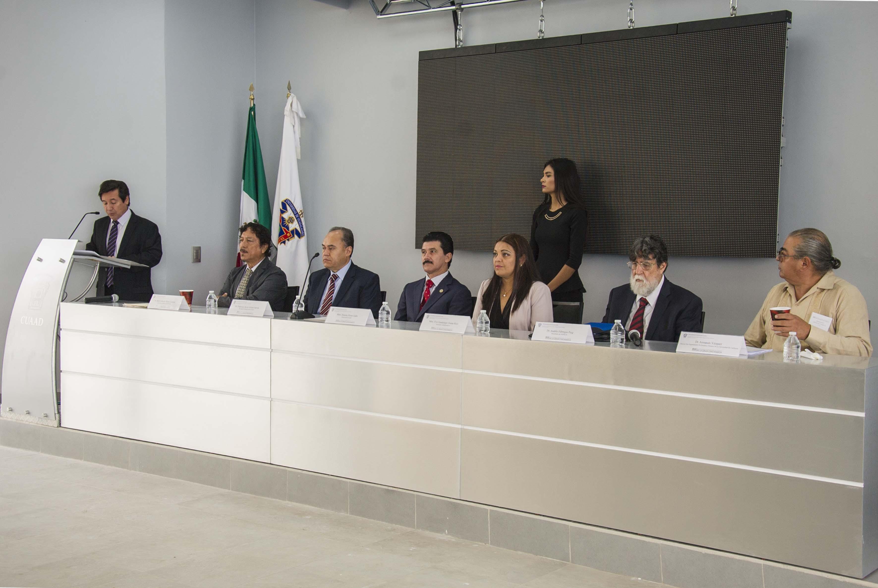 Inicio del XIII Encuentro del Seminario Permanente de Estudios de la Gran Chichimeca en el CUAAD