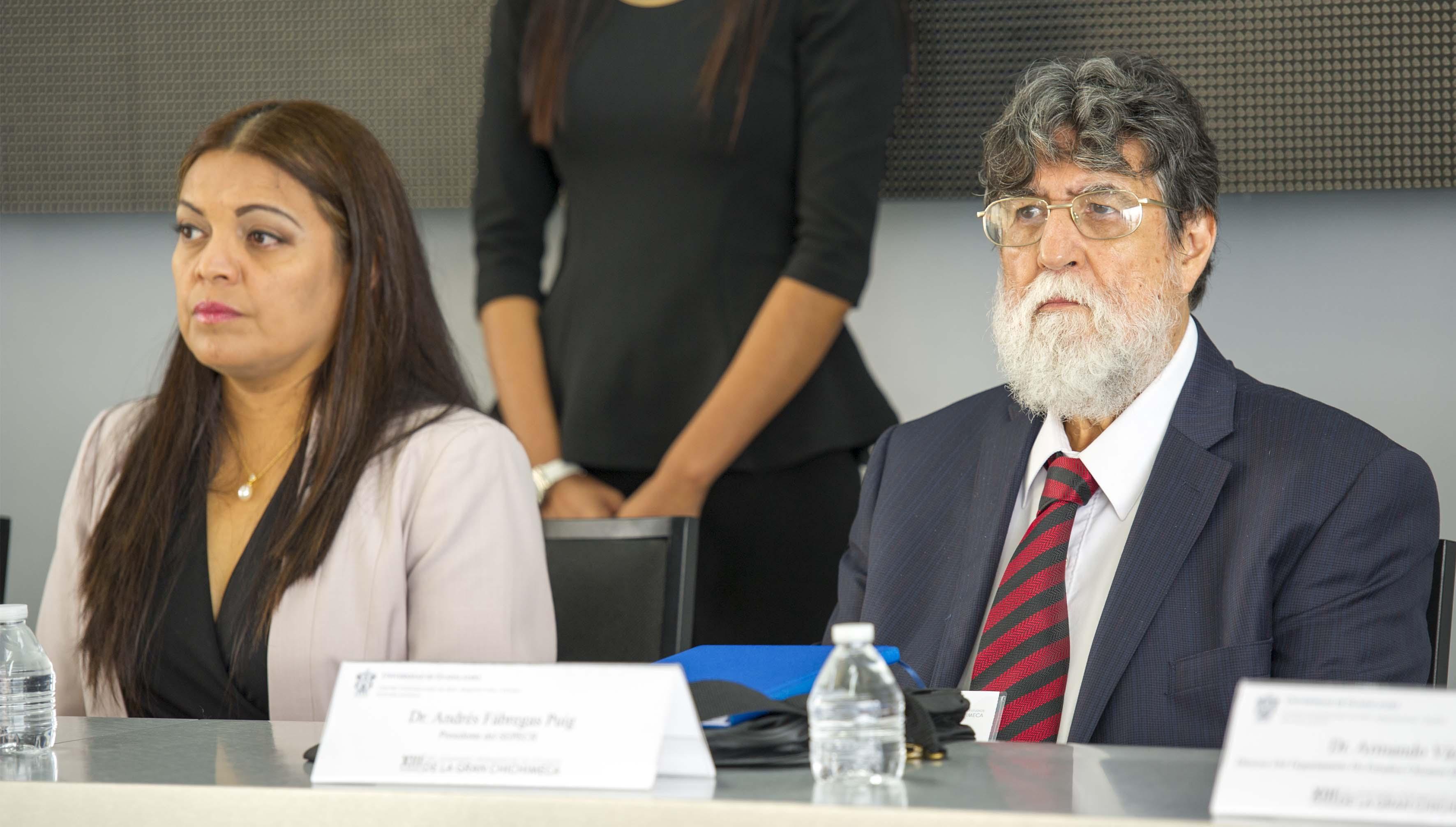 Dr. Andrés Fábregas Puig, coordinador del seminario participando en el XIII Encuentro del Seminario Permanente de Estudios de la Gran Chichimeca