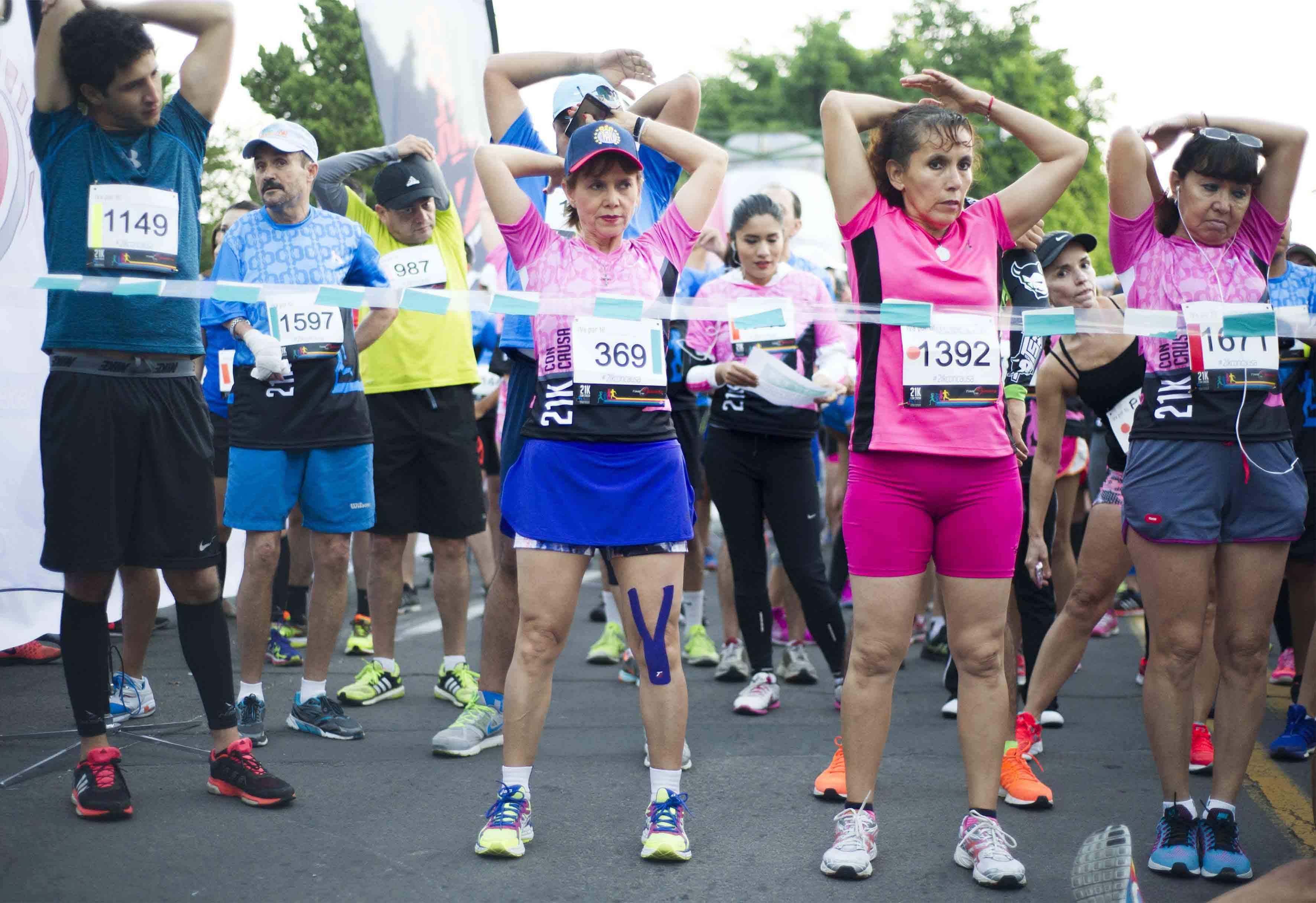 Corren 21 kilómetros por los niños con cáncer del Hospital Civil ...