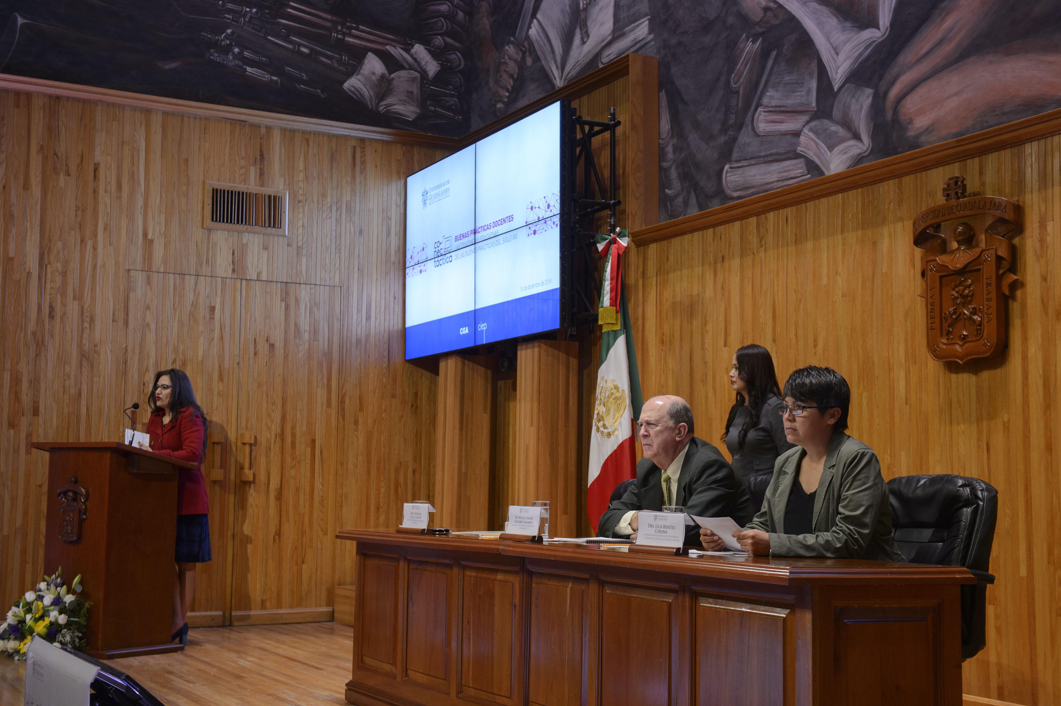 """Participantes a la inauguración de Conectáctica """"Buenas prácticas docentes"""""""