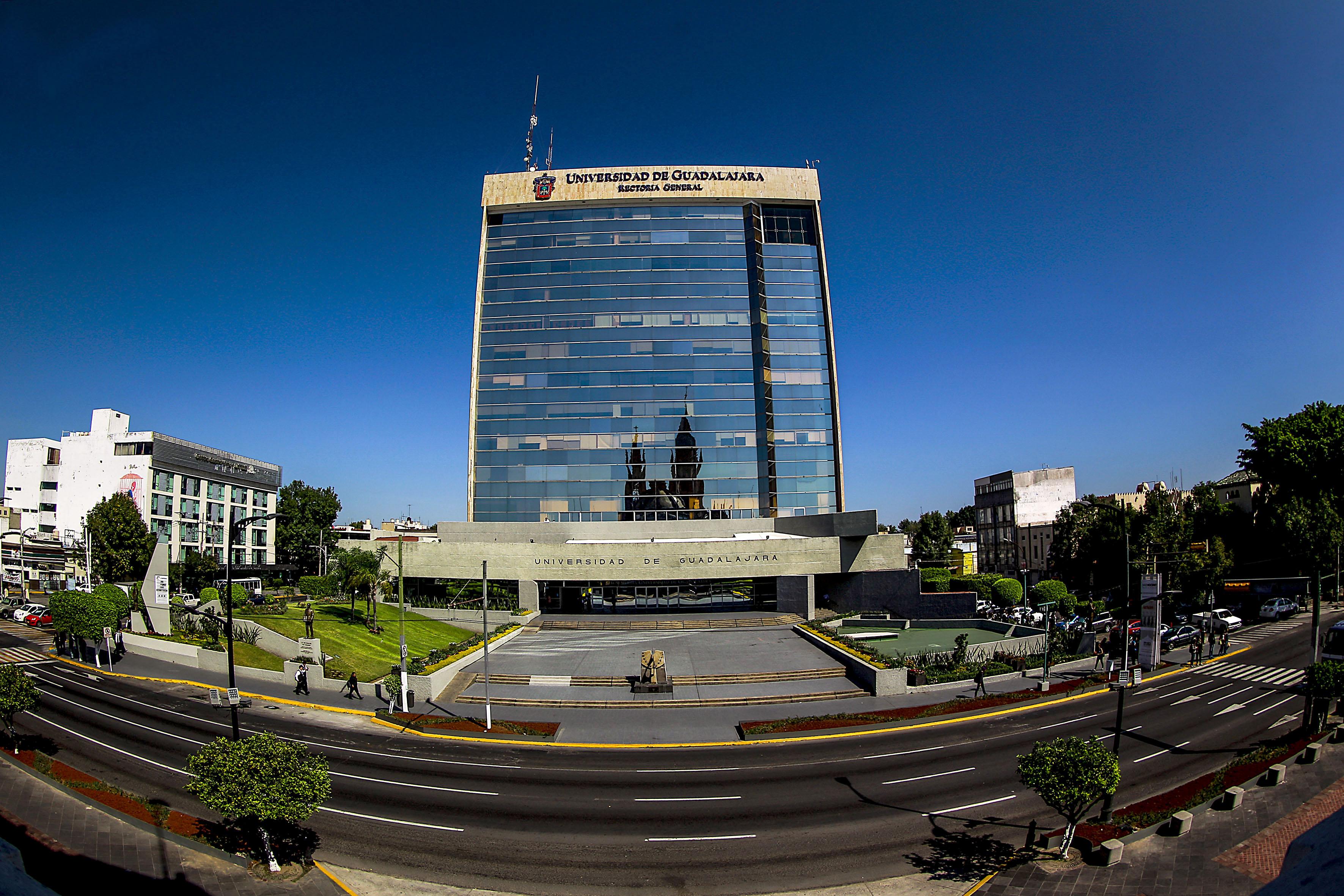 Torre de Rectoría de la Universidad de Guadalajara