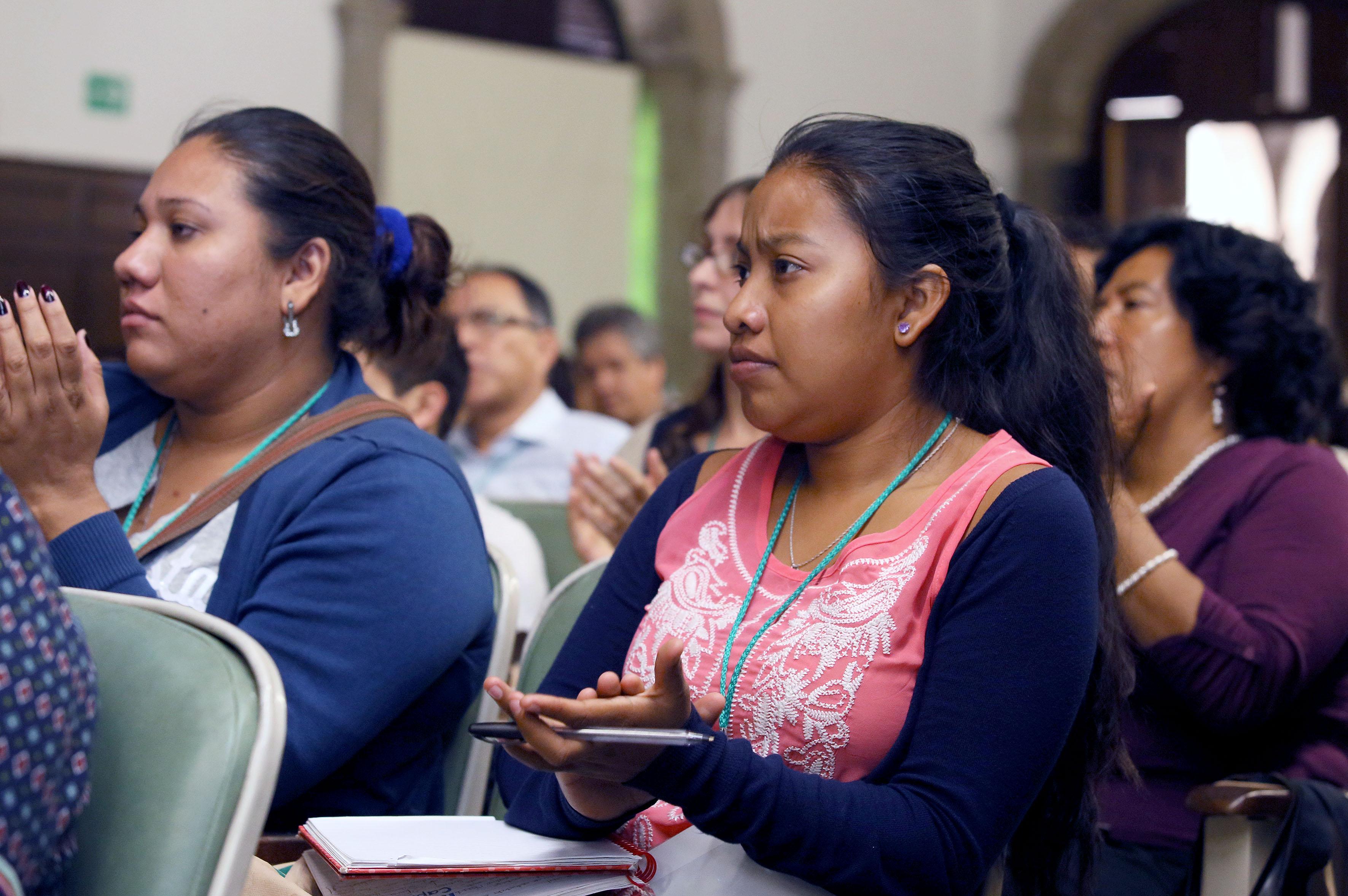Publico asistente al  V Coloquio Nacional de Estudiantes y Egresados de Programas Académicos en Educación Ambiental.
