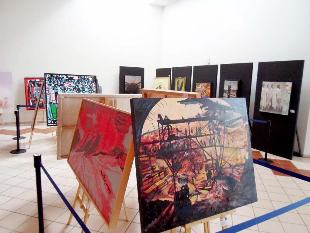 Recopilación de obras pictóricas para la III Bienal de Pintura José Atanasio Monroy.