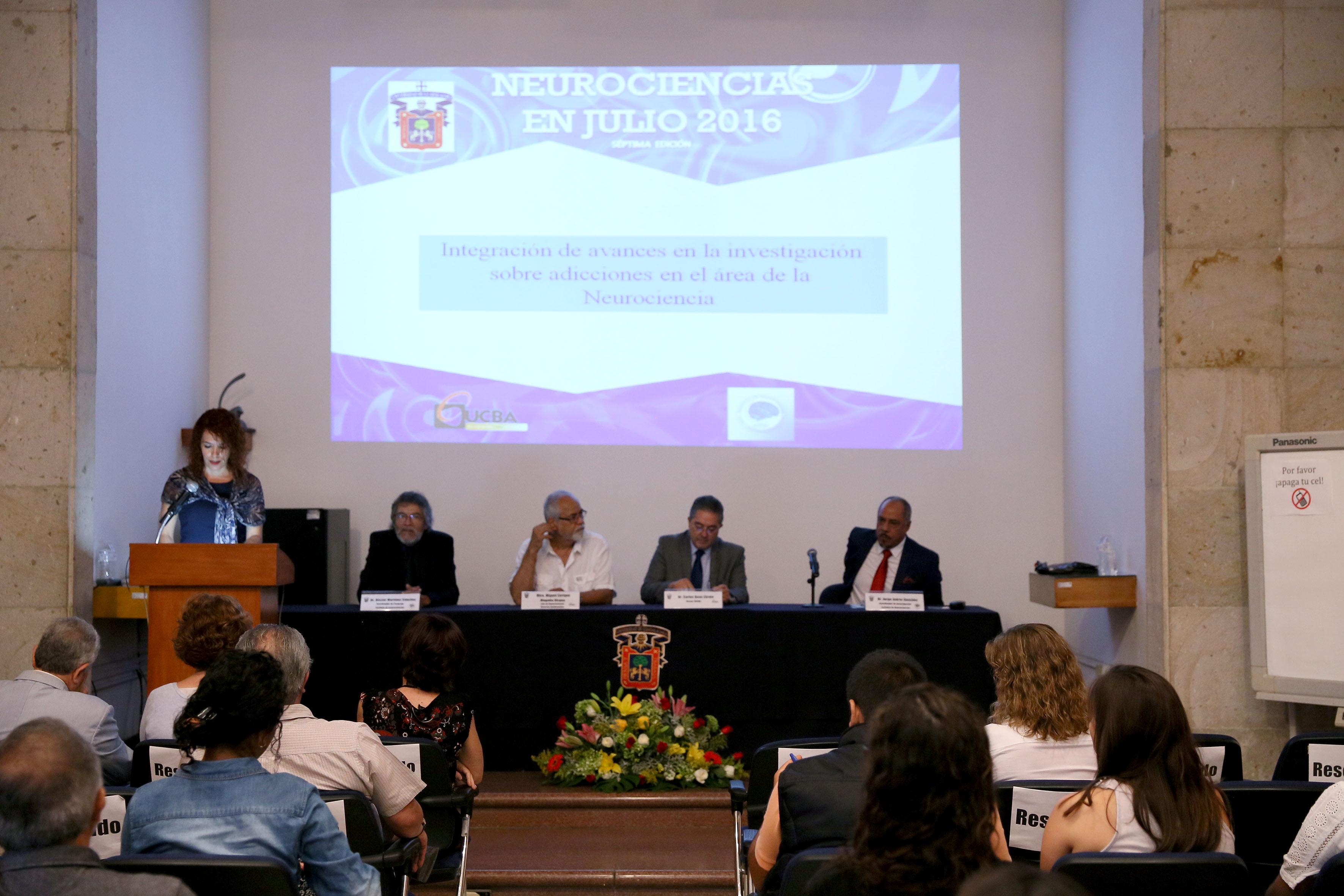 Inauguracion de Neurociencias en Julio 2016, en su séptima edición