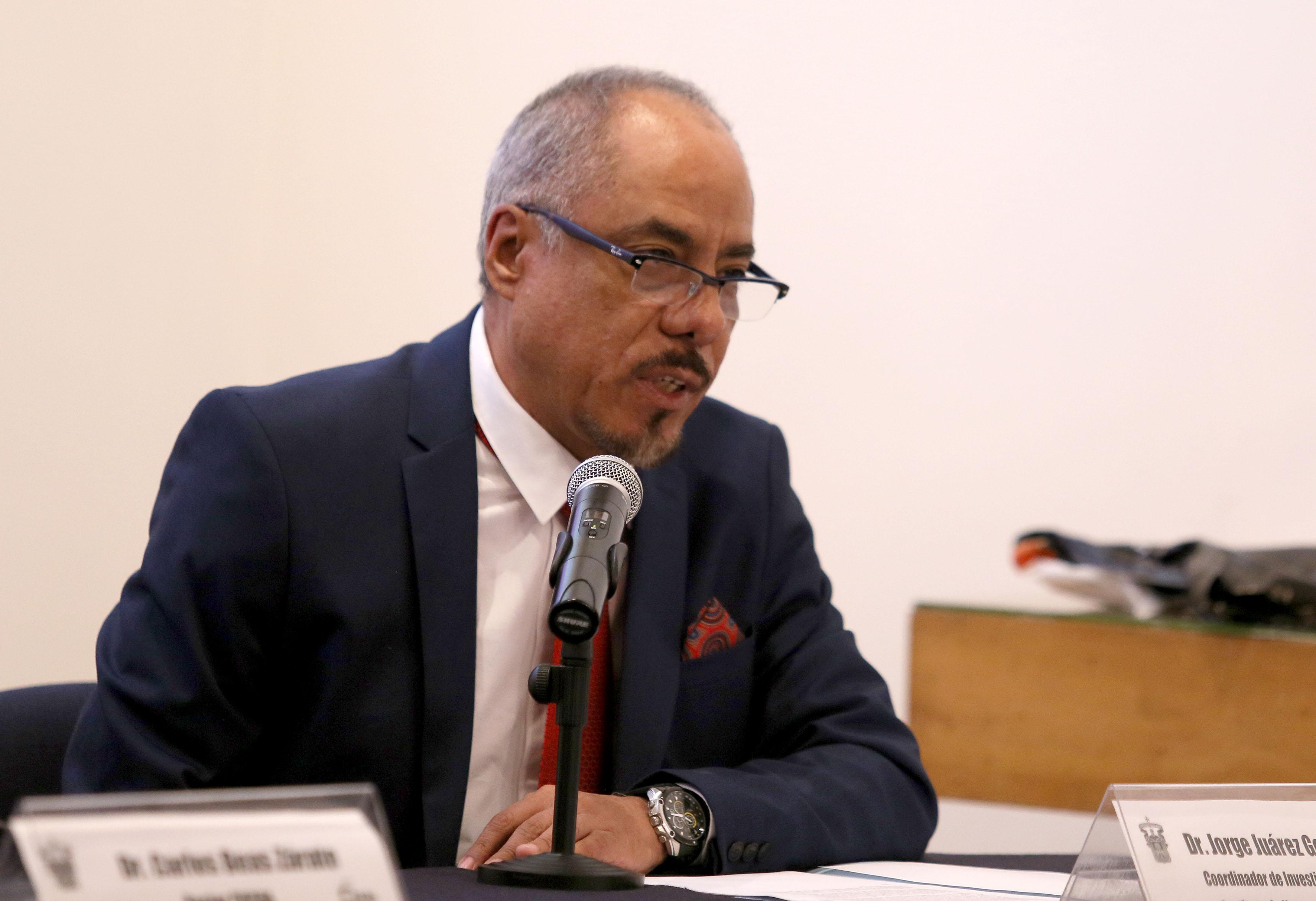Dr. Jorge Juárez González, coordinador de investigación del instituto de Neurociencias