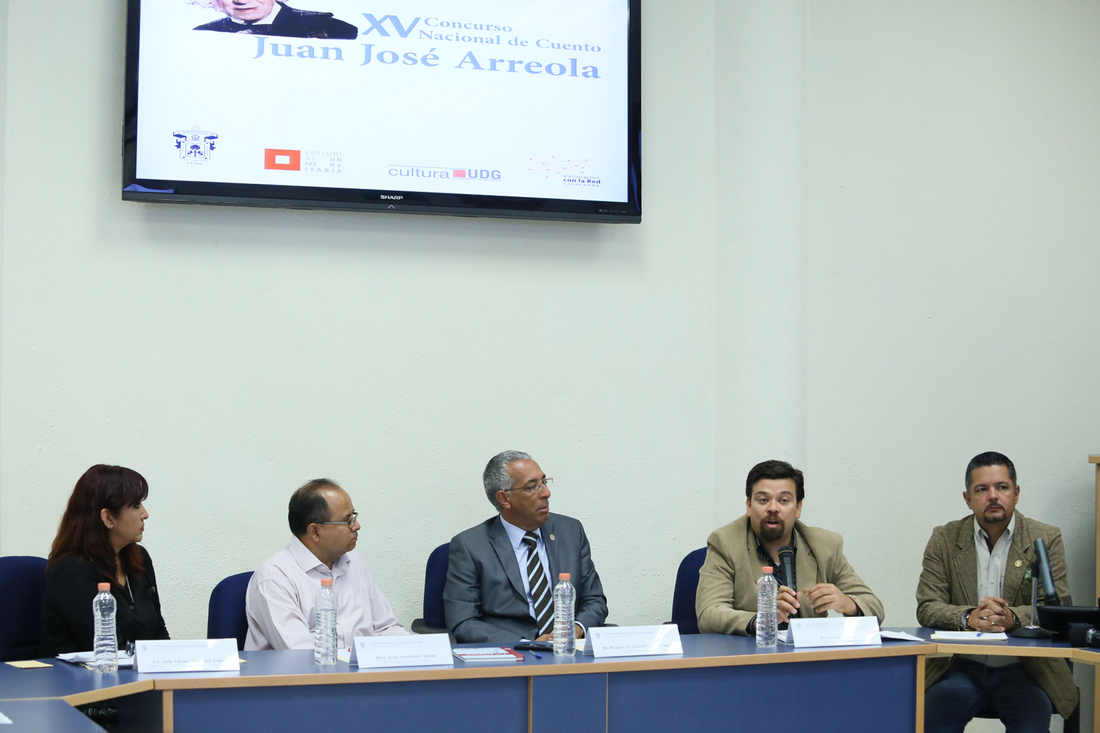 """Rueda de prensa sobre el ganador del XV Concurso Nacional de Cuento, """"Juan José Arreola"""""""