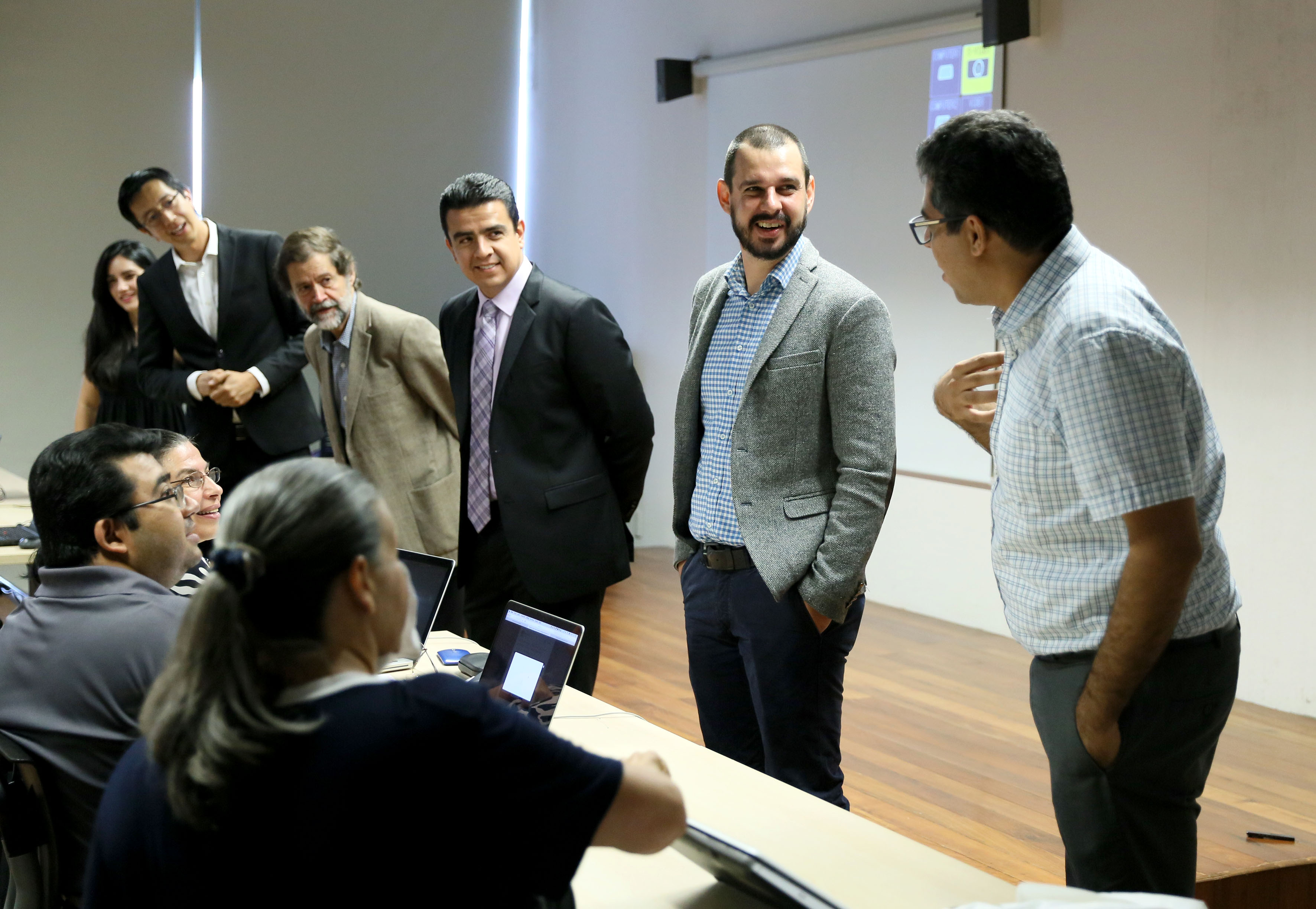 """Inauguración del curso """"Boot Camp de Big Data"""", en las instalaciones de la Biblioteca Pública del Estado """"Juan José Arreola"""""""